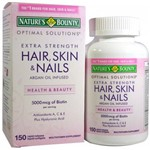 Hair Skin And Nails Nature's Bounty 150 Capsulas Importado