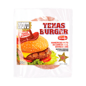 Hambúrguer Seara Texas Burger 56g