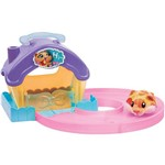 Hamster Small House Pista Rosa Candide
