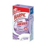 Harpic Lavanda Pastilha Sanitária Adesiva 3x9g
