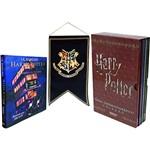 Harry Potter e o Prisioneiro de Azkaban Ilustrado Bandeira + Box Guia Cinematográfico