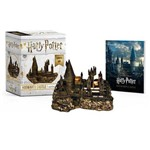 Harry Potter Hogwarts Castle And Sticker Book - Lights Up! - Miniature Editions