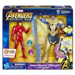 Hasbro E0559 - Set de Batalha: Homem de Ferro Vs Thanos + 2 Jóias do Infinito
