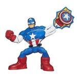 Hasbro - Mini Figura Capitão America Super Hero Kapow - A7039