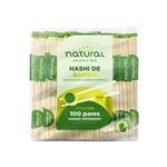Hashi Bambu 21cm Natural Caixa 100 Pares