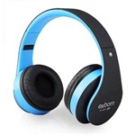 Headfone Multimídia HF-400BT Azul Exbom