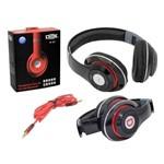 Headphone com Entrada Sd Card Fm Stereo