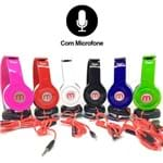 Headphone com Microfone PERFECTION - F-569 - Cores Sortidas F-569