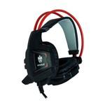 Headset Evolut Preto Vermelho - Eg-303