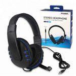Headset Fone de Ouvido para Playstation 4 Ps4 Series, Xbox One Séries e Nintendo Switch Dobe