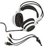 Headset Gamer Fone com Microfone 7.1 Virtual USB P2 Pc Notebook Knup Kp-400