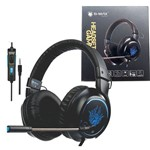Headset Gamer P2 Ps4 Pc Xbox One com Fio BMAX BM 215