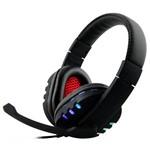 Headset Gamer Usb Estéreo com Leds que Acendem