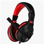Headset Marvo Scorpion H8321 Preto Vermelho - H8311