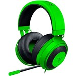 Headset Razer Kraken Pro V2 Green Oval com Mic (PS4, PC e Mac) - Verde