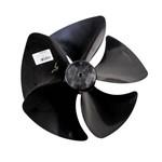 Helice Ar Condicionado Springer Split 9000 e Inovare 10000 12000 Eixo Fino Preta