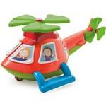 Helicóptero Pedagógico Calesita Helico - 4 Acessórios - Laranja/azul/verde