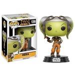 Hera - Star Wars Rebels - Funko Pop Figura Colecionável com 10cm