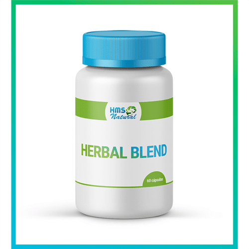 Herbal Blend Cápsulas Livre de Alergênicos 60cápsulas