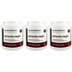 Hidramais Pimenta Negra Creme P/ Massagem 1kg (kit C/03)