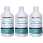 Hidramais Thermo Relaxante Óleo P/ Massagem 500ml (kit C/03)