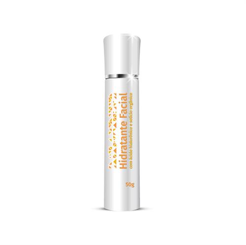 Hidratante Facial - Acido Hialurônico e Silício Orgânico 50 Gramas