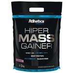 Hipercalórico Hiper Mass Gainer 3kg Atlhetica Morango