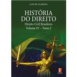 História do Direito – Direito Civil Brasileiro – Volume IV – Tomo I