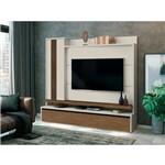 Home Cenário para Tv Até 60 Off White com Naturale - Edn Móveis