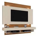 """Home Suspenso TB115L LED para TVs de Até 65"""" - Off White/Freijo"""