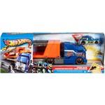 Hot Wheels Caminhão Batida com Veículo Mattel Azul e Laranja