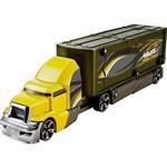 Hot Wheels - Caminhão Batida com Veículo Mattel Verde e Amarelo