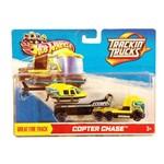 Hot Wheels Caminhão Porta Veículo Copter Chase - Mattel