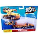 Hot Wheels Caminhão Porta Veículo Road Rally Laranja - Mattel
