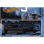 Hot Wheels Caminhão Transportador Hghway Blast - Mattel