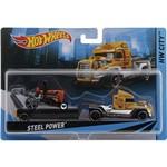 Hot Wheels Caminhão Transportador Steel Power - Mattel