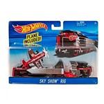 Hot Wheels Caminhão Velocidade na Pista Sky Show Rig - Mattel