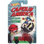 Hot Wheels Capitão América Qombee - Mattel