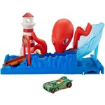 Hot Wheels City Playset Octopus Pier Attack - Mattel