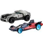Hot Wheels DC Batman Super Carro Pacote com 2 - Mattel