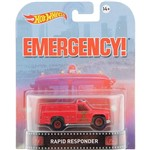 Hot Wheels Entretenimento Retro 1:64 Rapid Responder - Mattel