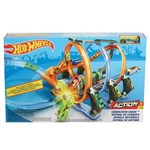 Hot Wheels Espiral de Choque 39 Cm - Mattel