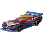 Hot Wheels Marvel Capitã Marvel - Mattel