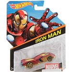 Hot Wheels Marvel Carros 1:64 Iron Man - Mattel