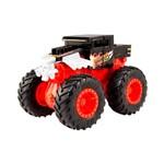 Hot Wheels Monster Truck Bash Ups Bone Shaker - Mattel