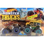 Hot Wheels Monster Trucks Hotweiler Vs Hound Hauler - Mattel