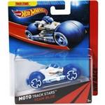 Hot Wheels Moto Track Stars Team Blue - Mattel
