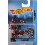 Hot Wheels Motos Sortidas 3 Squealer - Mattel