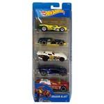 Hot Wheels (pack com 5 Carros) - Mattel