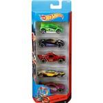 Hot Wheels Pacote 5 Carros 0186/CDT22 Spin Storm - Mattel
